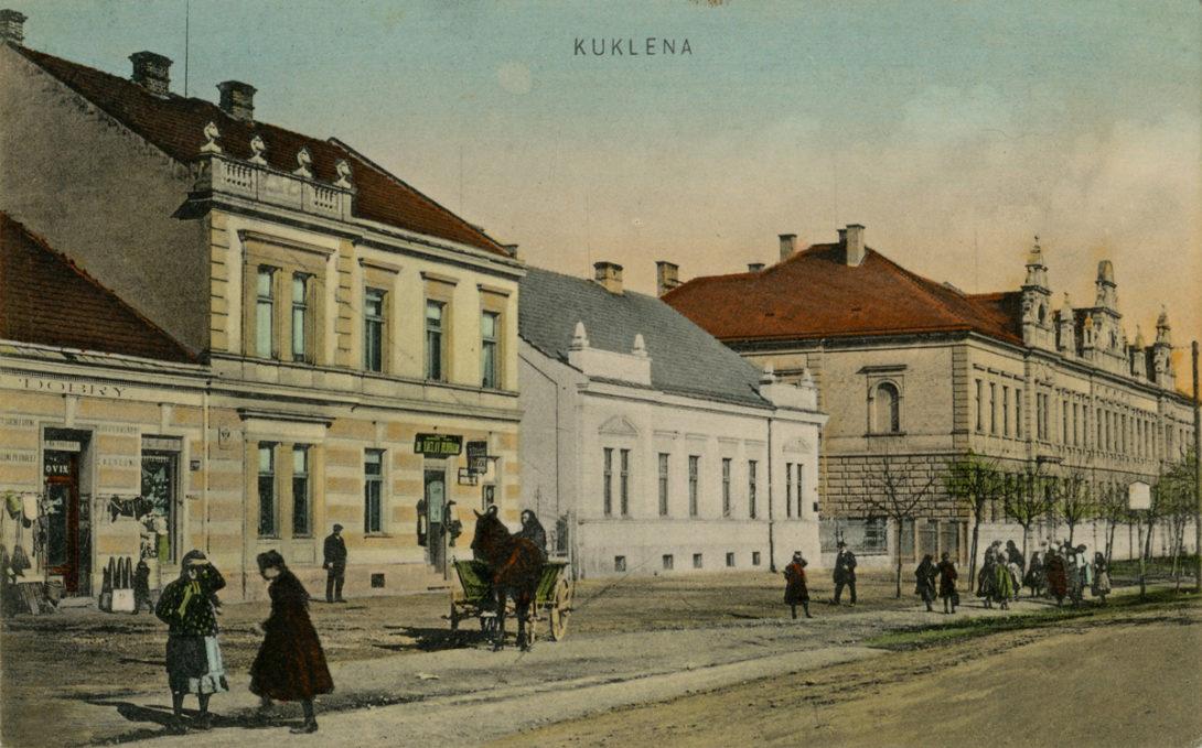 Kukleny někdy v posledních letech Rakouska-Uherska