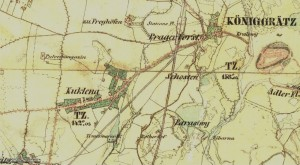Kukleny mapa