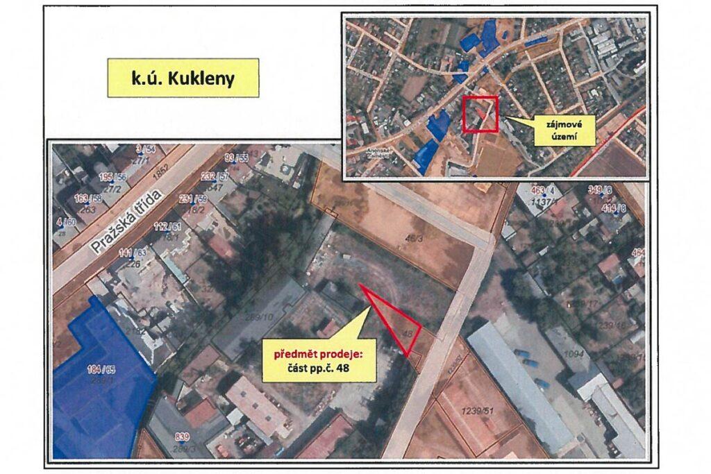 Prodej pozemku Kukleny